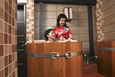 Японская баня в Москве
